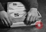 Image of frozen fish fillet packets Boston Massachusetts USA, 1935, second 11 stock footage video 65675046916