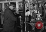Image of leather goods shop United States USA, 1950, second 7 stock footage video 65675046917
