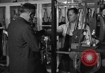 Image of leather goods shop United States USA, 1950, second 8 stock footage video 65675046917