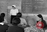 Image of Japanese internees adult education San Bruno California USA, 1942, second 7 stock footage video 65675046922