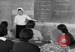 Image of Japanese internees adult education San Bruno California USA, 1942, second 10 stock footage video 65675046922