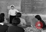 Image of Japanese internees adult education San Bruno California USA, 1942, second 11 stock footage video 65675046922