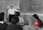 Image of Japanese internees adult education San Bruno California USA, 1942, second 12 stock footage video 65675046922