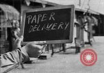 Image of paper delivery California United States USA, 1942, second 1 stock footage video 65675046924