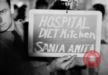 Image of Japanese internment hospital diet kitchen Santa Anita California USA, 1942, second 3 stock footage video 65675046928