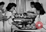 Image of Japanese internment hospital diet kitchen Santa Anita California USA, 1942, second 6 stock footage video 65675046928
