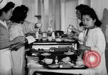 Image of Japanese internment hospital diet kitchen Santa Anita California USA, 1942, second 9 stock footage video 65675046928