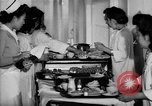 Image of Japanese internment hospital diet kitchen Santa Anita California USA, 1942, second 11 stock footage video 65675046928