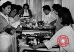 Image of Japanese internment hospital diet kitchen Santa Anita California USA, 1942, second 12 stock footage video 65675046928
