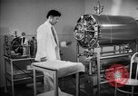 Image of sterilizer in hospital Santa Anita California USA, 1942, second 8 stock footage video 65675046930