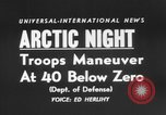 "Image of air borne ""Operation Arctic Night."" Thule Greenland, 1956, second 3 stock footage video 65675046951"
