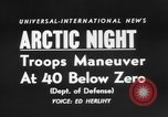 "Image of air borne ""Operation Arctic Night."" Thule Greenland, 1956, second 5 stock footage video 65675046951"