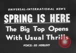 Image of Spring circus New York City USA, 1956, second 2 stock footage video 65675046952