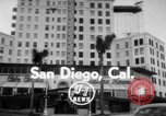 Image of El Cortez hotel glass elevator San Diego California USA, 1956, second 1 stock footage video 65675046956