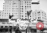 Image of El Cortez hotel glass elevator San Diego California USA, 1956, second 3 stock footage video 65675046956