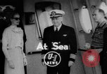 Image of Grace Kelly Atlantic Ocean, 1956, second 1 stock footage video 65675046957