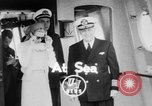 Image of Grace Kelly Atlantic Ocean, 1956, second 2 stock footage video 65675046957