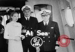 Image of Grace Kelly Atlantic Ocean, 1956, second 3 stock footage video 65675046957
