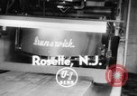 Image of mechanical pin setter Roselle New Jersey USA, 1956, second 4 stock footage video 65675046958