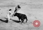 Image of bullfighting Colombia, 1956, second 9 stock footage video 65675046959