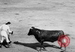 Image of bullfighting Colombia, 1956, second 12 stock footage video 65675046959