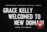 Image of Grace Kelly Monaco, 1956, second 2 stock footage video 65675046961