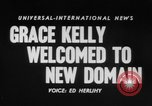 Image of Grace Kelly Monaco, 1956, second 4 stock footage video 65675046961