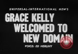 Image of Grace Kelly Monaco, 1956, second 5 stock footage video 65675046961
