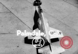 Image of F-10 Starfighter Jet Palmdale California USA, 1956, second 3 stock footage video 65675046964