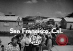 Image of Jim Garner San Francisco California USA, 1956, second 2 stock footage video 65675046965