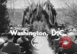 Image of bust of Cordell Hull Washington DC USA, 1956, second 2 stock footage video 65675046966