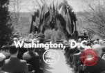 Image of bust of Cordell Hull Washington DC USA, 1956, second 3 stock footage video 65675046966