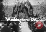 Image of bust of Cordell Hull Washington DC USA, 1956, second 4 stock footage video 65675046966