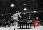 Image of table tennis championship Tokyo Japan, 1956, second 9 stock footage video 65675046967