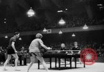 Image of table tennis championship Tokyo Japan, 1956, second 10 stock footage video 65675046967