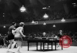 Image of table tennis championship Tokyo Japan, 1956, second 11 stock footage video 65675046967