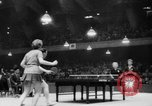 Image of table tennis championship Tokyo Japan, 1956, second 12 stock footage video 65675046967