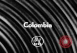 Image of Presidents meet Colombia, 1957, second 3 stock footage video 65675046978