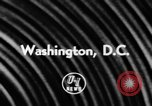 Image of Dwight David Eisenhower Washington DC USA, 1957, second 2 stock footage video 65675046979