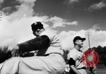 Image of Dodgers and White Sox train Florida United States USA, 1957, second 12 stock footage video 65675046981