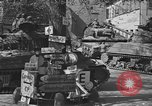 Image of American Ninth Armored Division Weiden Germany, 1945, second 9 stock footage video 65675046985
