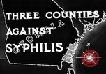 Image of campaign against Syphilis United States USA, 1938, second 7 stock footage video 65675047048