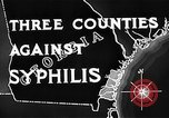 Image of campaign against Syphilis United States USA, 1938, second 8 stock footage video 65675047048