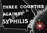 Image of campaign against Syphilis United States USA, 1938, second 9 stock footage video 65675047048