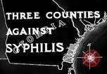 Image of campaign against Syphilis United States USA, 1938, second 11 stock footage video 65675047048