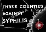 Image of campaign against Syphilis United States USA, 1938, second 12 stock footage video 65675047048