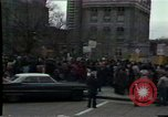 Image of protest meeting Pennsylvania United States USA, 1979, second 6 stock footage video 65675047059