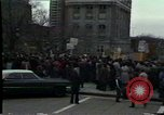 Image of protest meeting Pennsylvania United States USA, 1979, second 7 stock footage video 65675047059