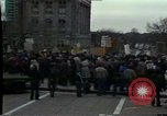 Image of protest meeting Pennsylvania United States USA, 1979, second 10 stock footage video 65675047059