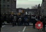 Image of protest meeting Pennsylvania United States USA, 1979, second 12 stock footage video 65675047059